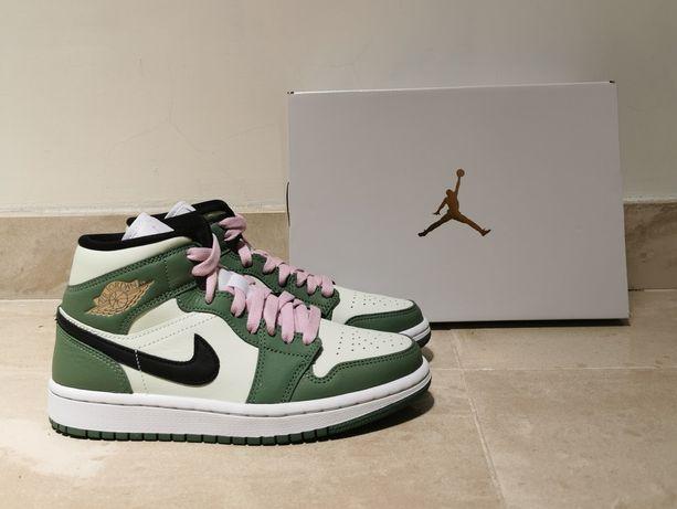 Air Jordan 1 Mid Dutch Green 36.5
