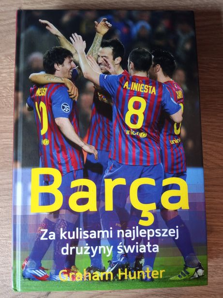 Książka Barca piłka nożna