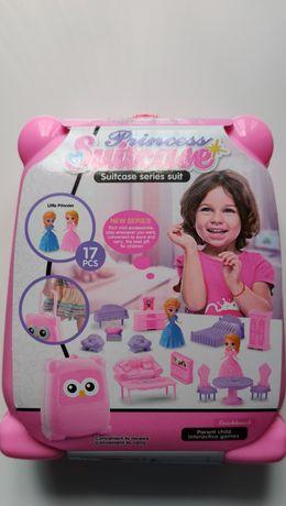 Zabawki Księżniczka lub Pony Mini Walizka z akcesoriami 17 części