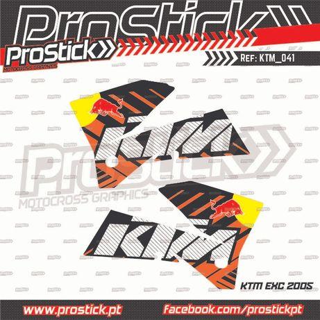 Autocolantes laterais KTM EXC 2004 ( Promoção )