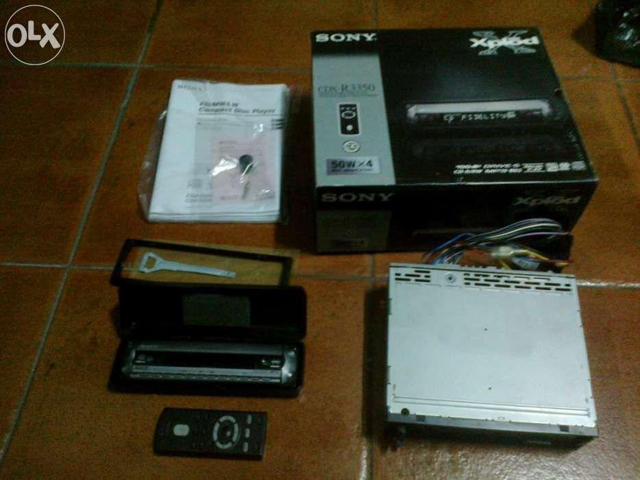Vendo rádio Sony Xplõd 4x50w Águas Santas - imagem 1
