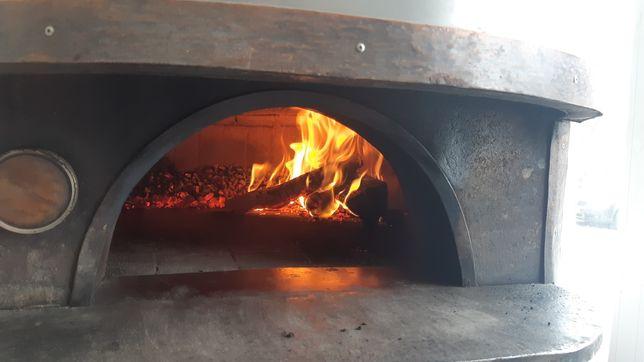Piec opalany drewnem Pizza 150cm  Piec chlebowy Firma Dom Ogród
