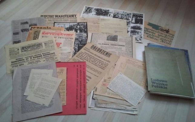 Faksymile stare dokumenty