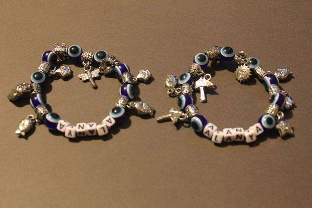 Bransoletka-koraliki-biżuteria na rękę