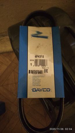 Продам ремень dayco 4pk915