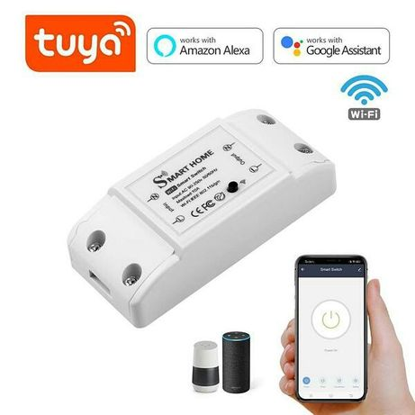 Беспроводной выключатель WiFi Smart Switch 10A