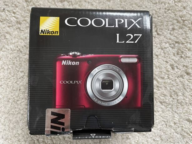 Aparat Nikon Coolpix l27