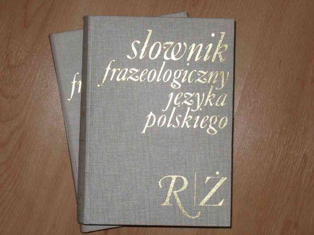 Słownik frazeologiczny języka polskiego tom 1 i 2 Skorupka