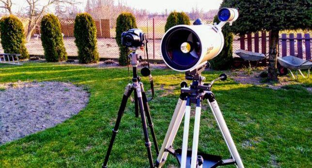 Teleskop Sky-Watcher 150/1800 na GoPro Hero 7 8 Karma Grip Feiyu Tech+