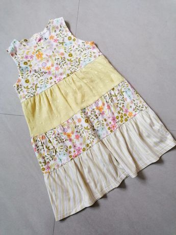 H&M sukienka bawełniana 116 cm