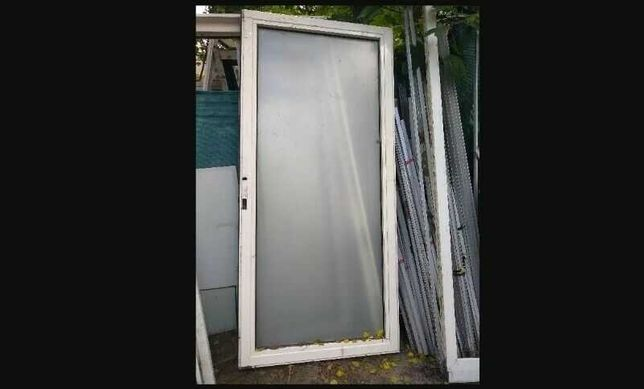 Okno przeciwpożarowe 100 x 208 cm E30 Witryna