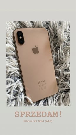 Iphone XS gold (64g)