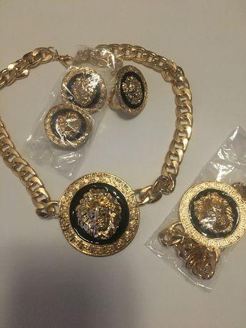 Komplet biżuterii ze stali chirurgicznej