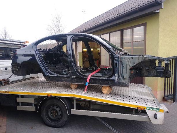 BMW F30 F31 duza cwiartka prawy przód słupek próg