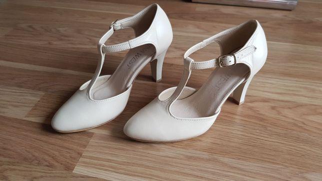 Buty ślubne (taneczne) - Nina West, rozmiar 35, obcas 8cm