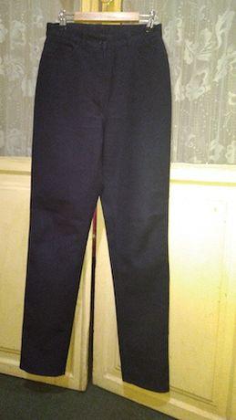Calças clássicas, azuis, 36, Benetton.