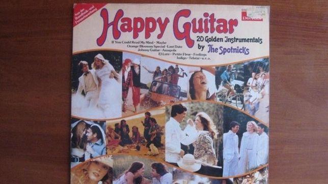 Happy Guitar 20 Golden Instrumentals by The Spotnicks Germany Винил
