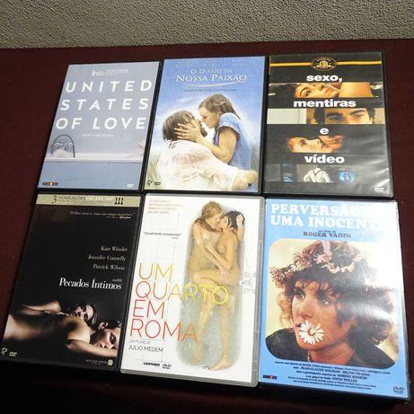 DVDs-Cinema Erótico-3 euros cada artigo