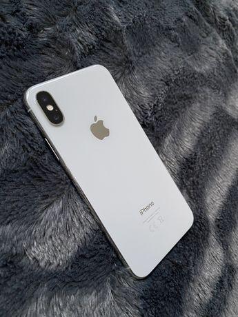 Iphone X 10 64gb biały, bardzo dobry stan