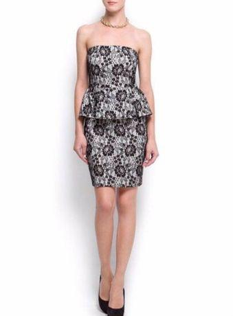 Продам новое платье Mango с баской, размер S/M;цена 370грн