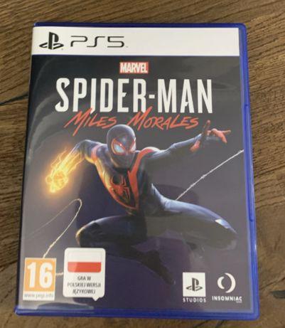 Gra Spider-Man Miles Morales PS5 PL folia NOWA od ręki WYSYŁKA