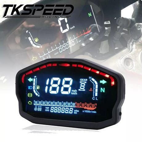 LICZNIK motocyklowy quad uniwersalny LCD