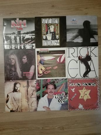 Rockowe winyle zestaw Ex ,Hanoi Rocks, Steve Taylor, Philips