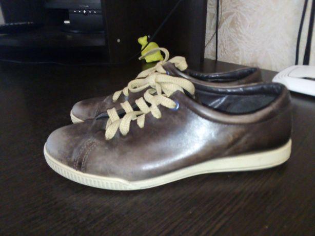 Женские ботинки ECCO 39р кожа