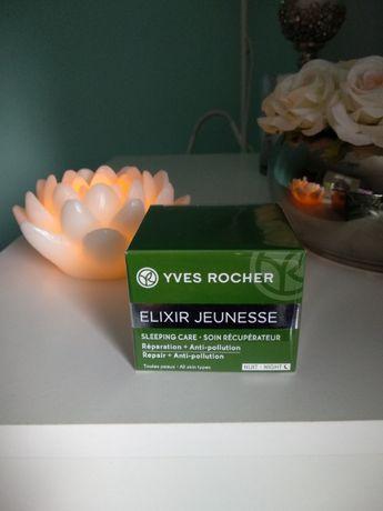 Yves Rocher Elixir Jeunesse krem maska na noc NOWY