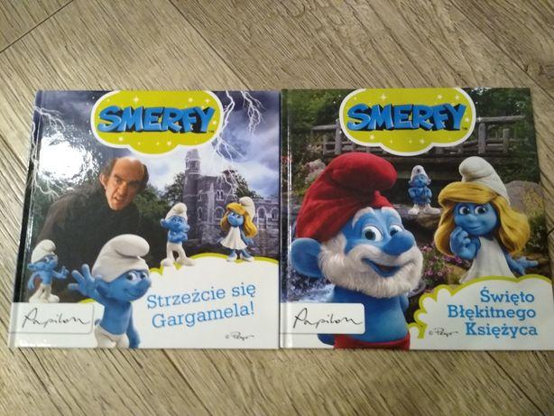 Smerfy Święto błękitnego księżyca Strzeżcie się Gargamela+ dvd Smerfy