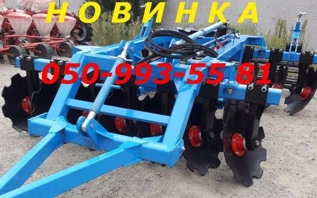 Борона НАВЕСНАЯ прицепная 1.8 (2.1-2.4-2.8-3.1) для трактора Т-150 МТЗ