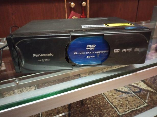 Panasonic CX-DH801N (DVD/Video/CD чейнджер на 8 дисков)