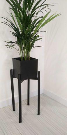 Stojak na kwiaty, metalowy Kwietnik wys 45cm x 25cm