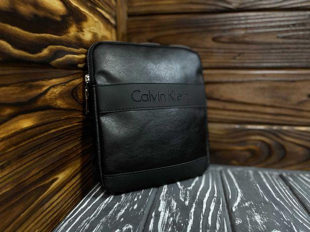 Стильная мужская сумка Calvin Klein, барсетка через плечо, slim