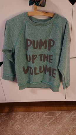 Next 110 bluza z napisem odcień zieleni