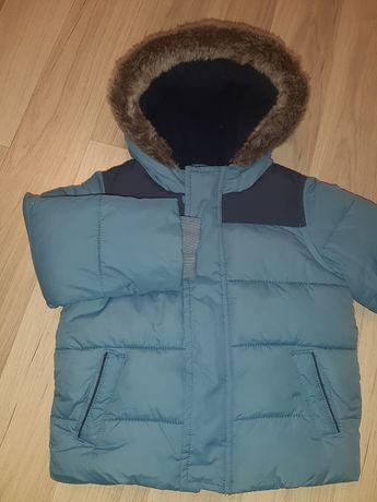 Zimowa kurtka dla chłopca 80 cm
