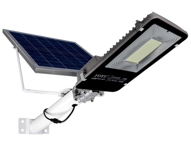 Уличный светодиодный LED фонарь 100 Вт на солнечной батарее