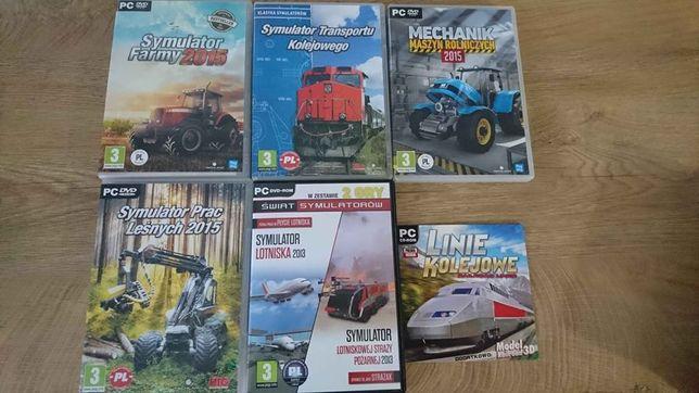 6 gier na PC symulatory
