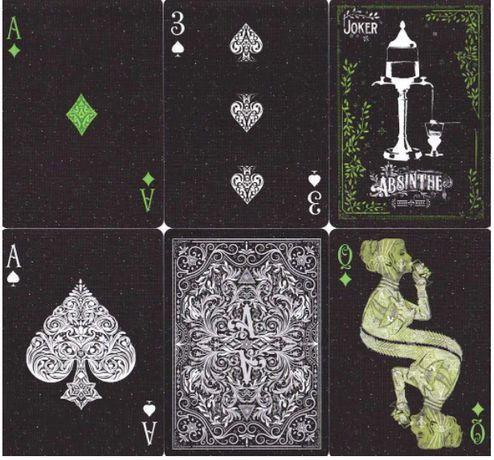 ХИТ! Коллекционные карты Absinthe от Ellusionist\Карты для покера