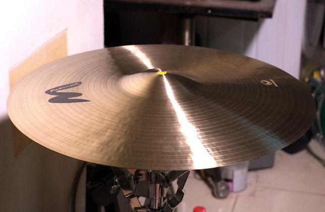 "Тарелка Masterwork Istanbul Jazz Master 17"" Dark Crash,B20,Видео демо"