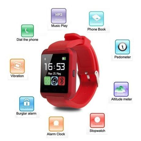 Смарт годинник, Bluetooth
