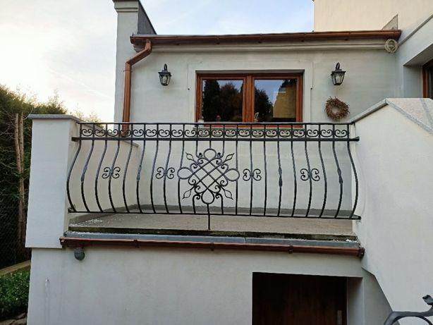 kowalstwo artystyczne kute bramy balustrady płoty balkony