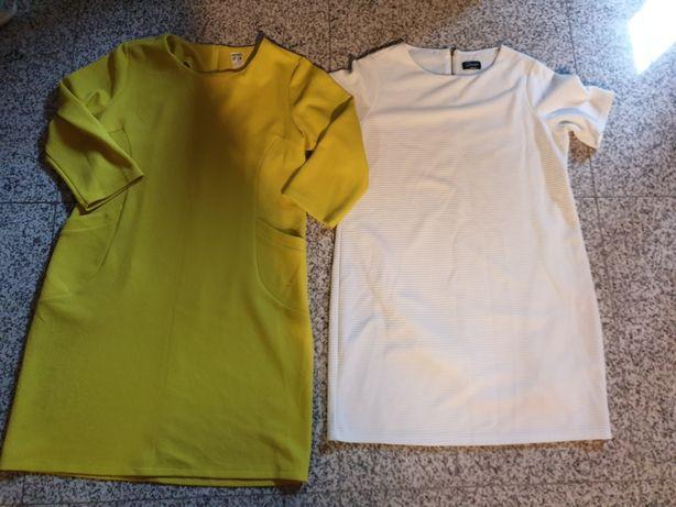 Tunika sukienka rozmiar 50 2 szt 25zl