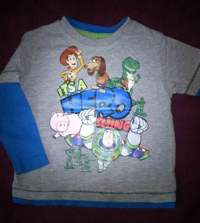 """bluzeczka dla chłopczyka """"toy story"""" 9-12mies"""