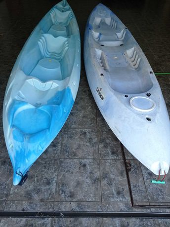 Kayaks de 2 e 3 lugares