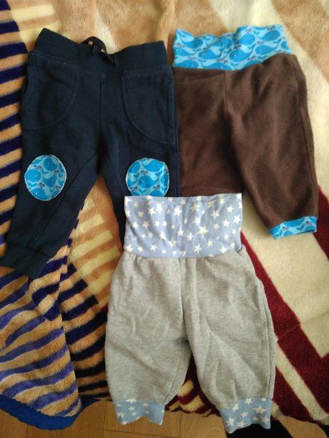 3 x spodnie niemowlęce rozm. 62
