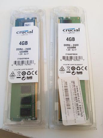 Ram Crucial 2x4GB 2400mhz DDR4