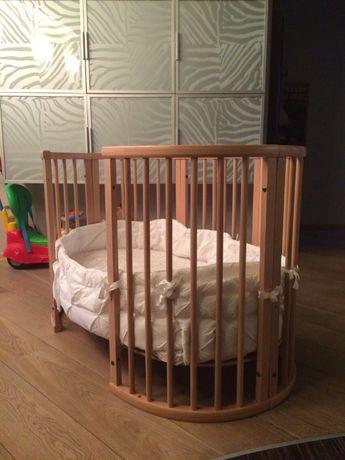 Детская кроватка Stokke sleepi 2 в 1 оригинал