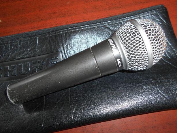 Микрофон профессиональный вокальный Shure SM 58