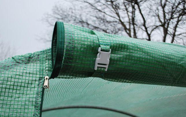 Tanio 2x3,5 7m2 Szklarnia Tunel foliowy na warzywa ogrodowy namiot